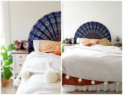 Boho Chic Headboards by Rounded Upholstered Boho Headboard Reality Daydream