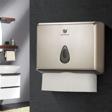 bathroom paper towel dispenser bathroom toilet multifold paper towels tissue dispenser