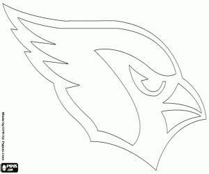 nfl cardinals coloring pages nfl logos coloring pages printable games 2