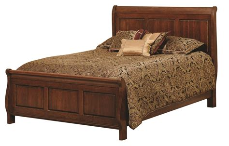amish bed amish wilkshire sleigh bed