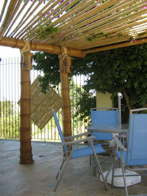 Bamboo Patio Cover 17 Best Images About Pergolas On Pinterest Backyard