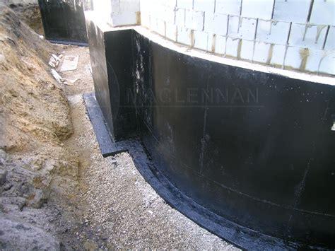 Exterior Basement Waterproofing Membrane by Exterior Waterproofing Basement Tanking