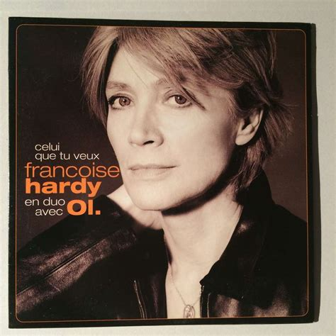 francoise hardy new cd celui que tu veux by fran 231 oise hardy cds with bsdisk