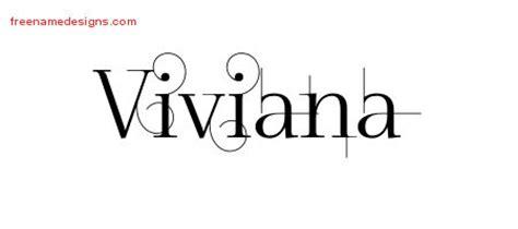 tattoo name vivian viviana archives free name designs