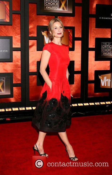 13th Annual Critics Choice Awards Carpet by Kyra Sedgwick 13th Annual Critics Choice Awards