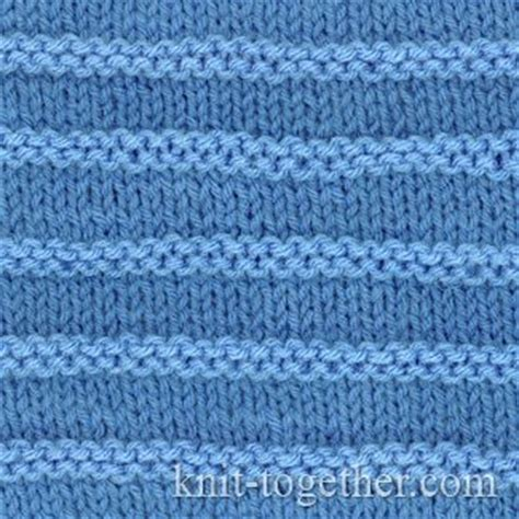 purl stitch knit knit together purl stripes with needles and knitting