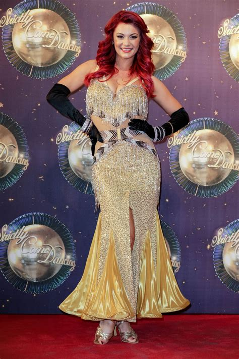 dianne buswell strictly  dancing launch  london