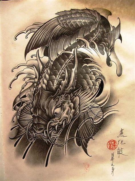 koi fish dragon tattoo designs pin di ken manni su inked koi