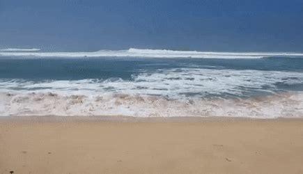 sunset beach waves north shore oahu hawaii (october 2012