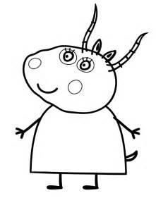 peppa pig la maestra madame gazzella