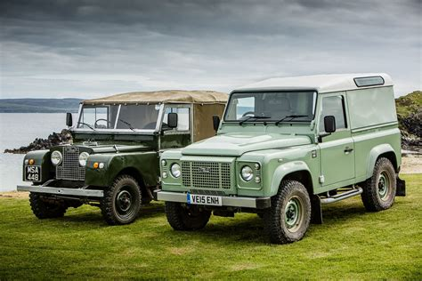 original land rover defender land rover defender heritage edition review 2015 first drive