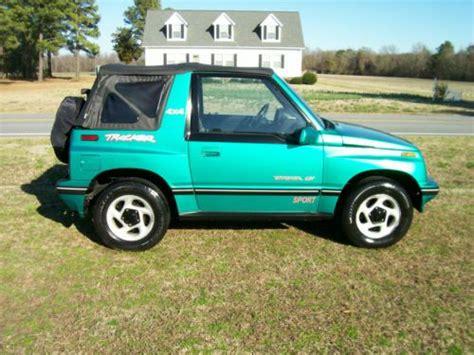Suzuki Geo Tracker For Sale Buy Used 1995 Geo Tracker Sidekick 4x4 Convertible Lsi