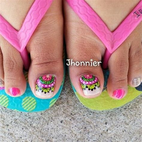 uñas de los pies decoradas paso a paso uas de pies decoradas beautiful uas pies decoradas uas