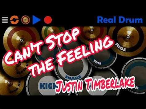 real drum cover tutorial can t stop the feeling justin timberlake real drum