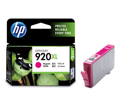 Tinta Hp 920xl Yellow Original Baru hp 920xl high yield magenta ink cartridge cd973aa original distributor tinta printer