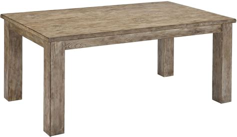 rectangular dining room table mestler driftwood rectangular dining room table from