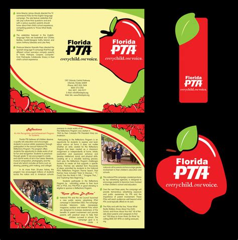 membership brochure template florida pta brochure template by thenewrevolution on