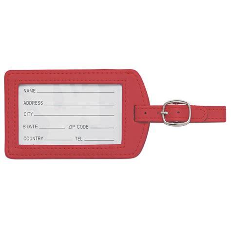 Luggage Tag customized adjustable luggage tag promotional adjustable
