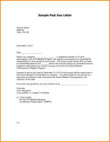past due letter template 9 past due letters cna resumed