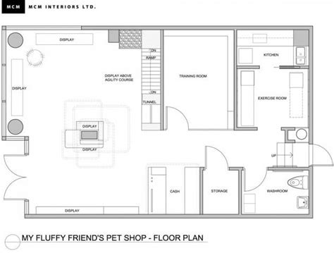 Pet Shop Floor Plan | fresh and playful pet shop design in vancouver interior