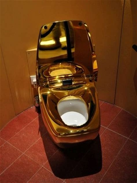 world most expensive toilet made of gold pics gistmania
