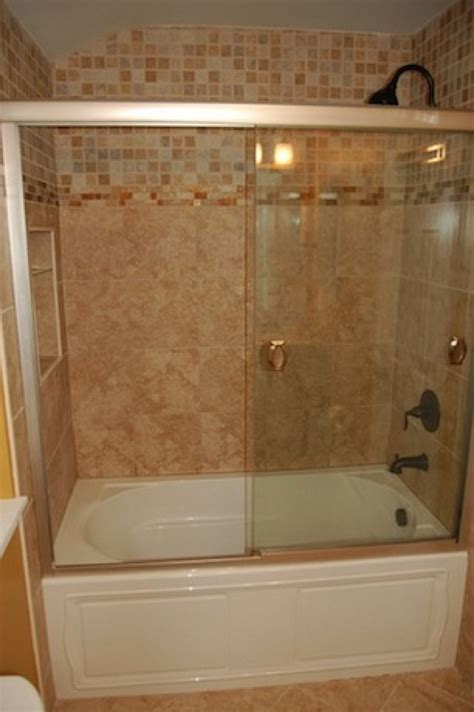 add a shower to a bathtub add style to a tub shower combo in the bathroom