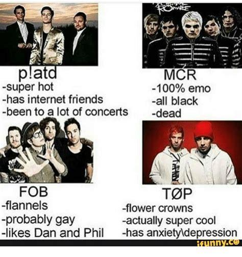 Emo Band Memes - 25 best memes about gay emo band gay emo band memes