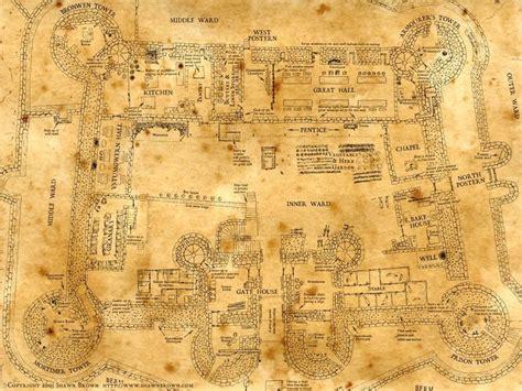 harlech castle floor plan 1000 ideas about casas hogwarts on pinterest hogwarts