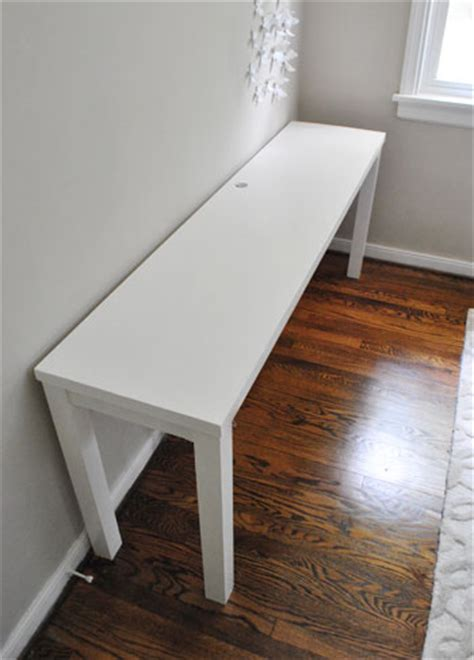 how to build a desk with an hollow door