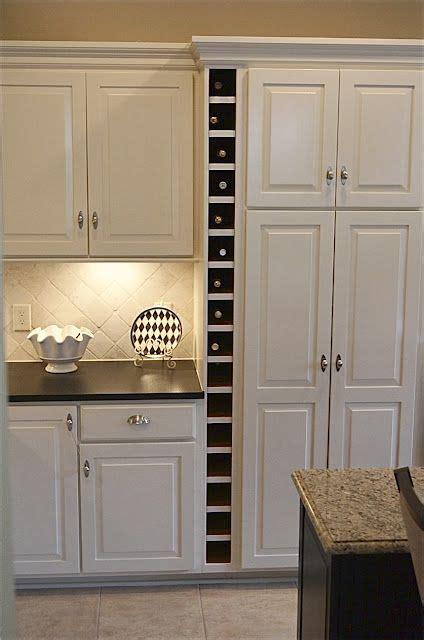 Built In Cabinet Wine Rack by 17 Best Images About Kitchen Wine Rack Ideas Wine Racks