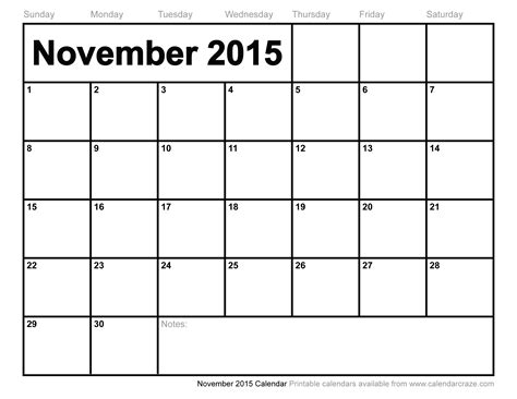 printable planner for november 2015 type in november 2015 calendar printable calendar