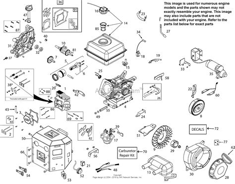 briggs and stratton 287707 wiring diagram briggs and