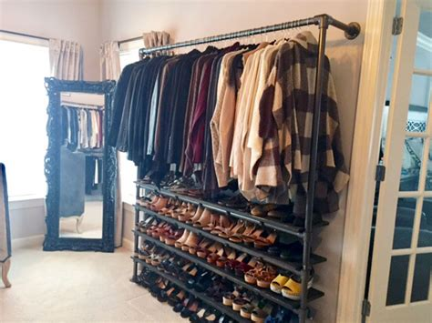 Best Diy Closet System by Diy Closet System Built With Pipe Fittings Plans Included Simplified Building