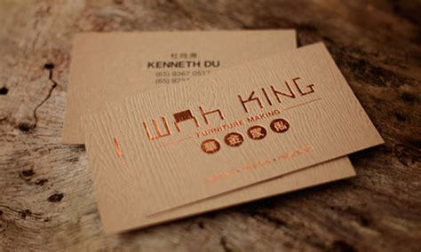 30 inspirational wood business cards creativefan