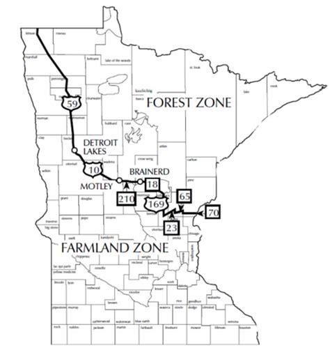mn deer zone map minnesota s lead ammo ban sparks hunters fiery debates