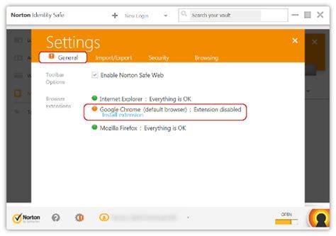 norton resetting home page comment installer la barre d outils norton dans votre
