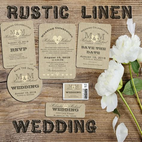rustic wedding invitation sets rustic country wedding rustic country wedding