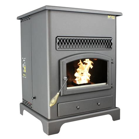 us stove 2 000 sq ft golden eagle pellet stove with