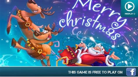 merry christmas facebook games gameplay youtube