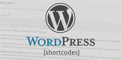 wordpress tutorial complete guide wordpress tutorials για να ξεκινησετε με τα shortcodes