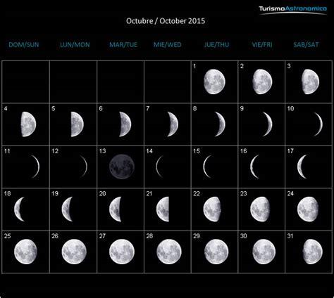 imagenes calendario lunar octubre 2015 calendario lunar 2015 conexi 211 n universal