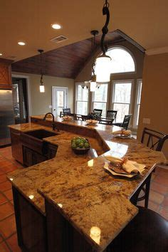 glittering kitchen island with sink and seating also wine countertop seating overhang before view installed on