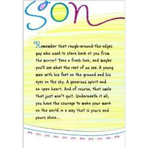 Birthday Cards For On Birthday Cards For Son Greeting Sons Pictures