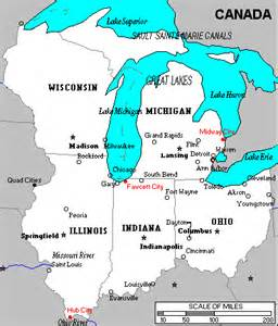 us map states and great lakes dc atlas great lakes region