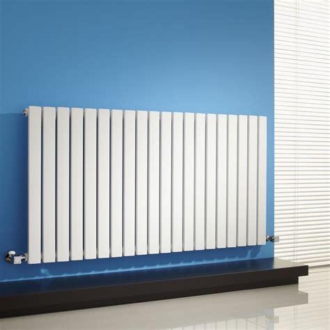 Flat Wall Radiator White Horizontal Flat Panel Designer