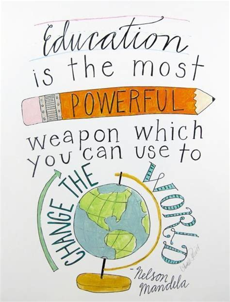 printable quotes education education is the most powerful weapon by nelson mandela