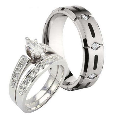 wedding ring sets ebay
