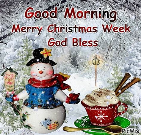 good morning merry christmas week god bless pictures   images  facebook tumblr