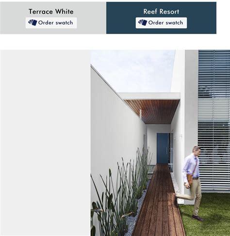 dulux exterior paint colours australia beach house