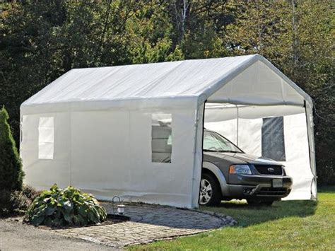 Portable Garage Kits Canopy Accessories Replacement Tops Anchors Canopy